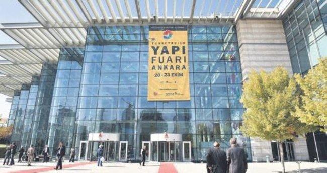 İç Anadolu'nun en büyük yapı fuarı Ankara'da açıldı