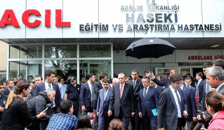 Cumhurbaşkanı'ndan yaralı vatandaşlara ziyaret