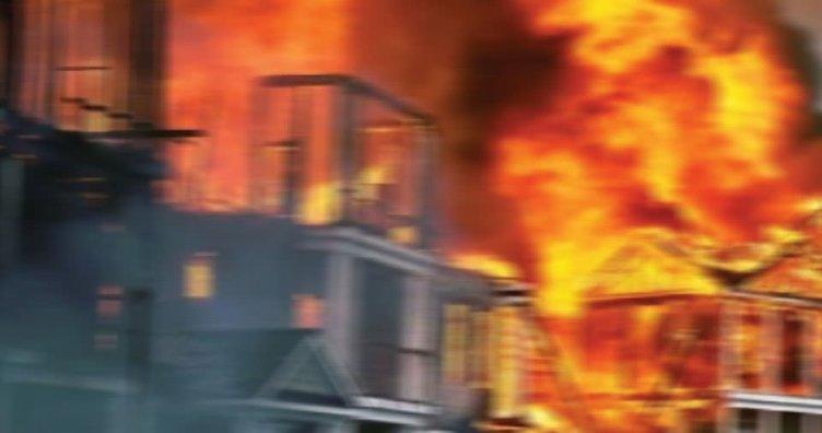 Genelevde yangın: 1 ölü, 2'si ağır 3 yaralı