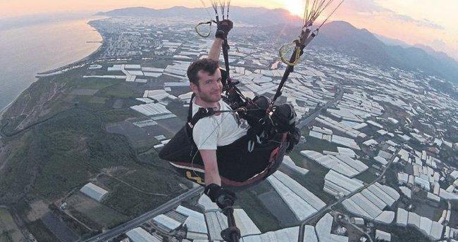 Ters rüzgâr paraşüt uçuşlarını iptal ettirdi