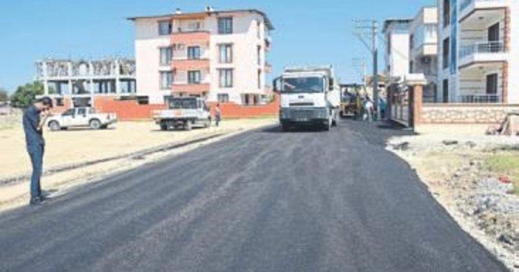 Ahmet Bedevi'de asfalt sevinci