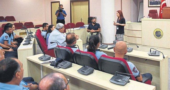 Engelli bireylerle iletişim semineri