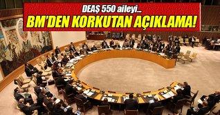 BM: DEAŞ 550 aileyi kalkan olarak kullanıyor