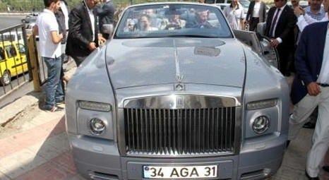 Ali Ağaoğlu bu plakayı kaçırdı