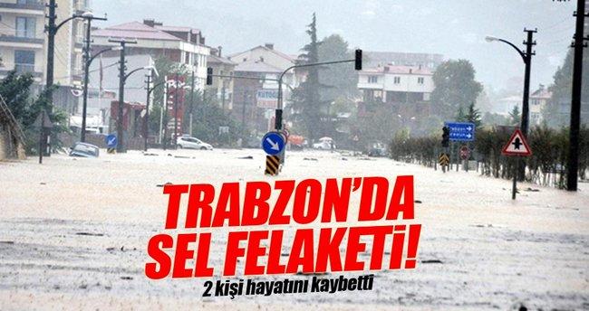 Trabzon'da sel: 2 kişi hayatını kaybetti