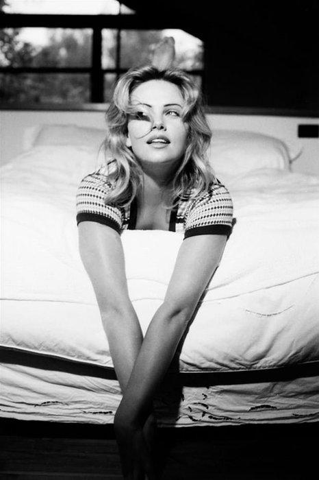 Bir zamanlar Charlize Theron böyleydi!