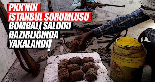 PKK'NIN İSTANBUL İL SORUMLUSU BOMBALI SALDIRI HAZIRLIĞINDA YAKALANDI