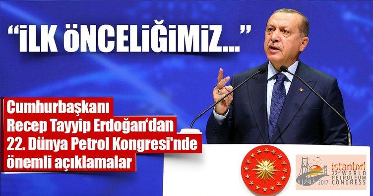 Cumhurbaşkanı Erdoğan: İlk önceliğimiz Güney gaz koridorumuzdur