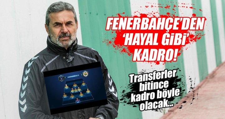 İşte Fenerbahçelilerin hayalindeki 11...