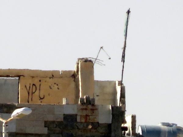 Telabyad'daki ABD bayrakları ile PYD flamaları kaldırıldı