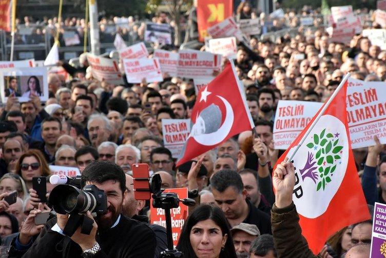 CHP ve HDP'nin FETÖ-PKK mitingine kimse gitmedi!