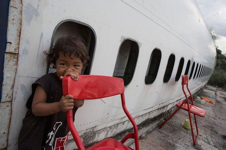 Uçakta yaşam
