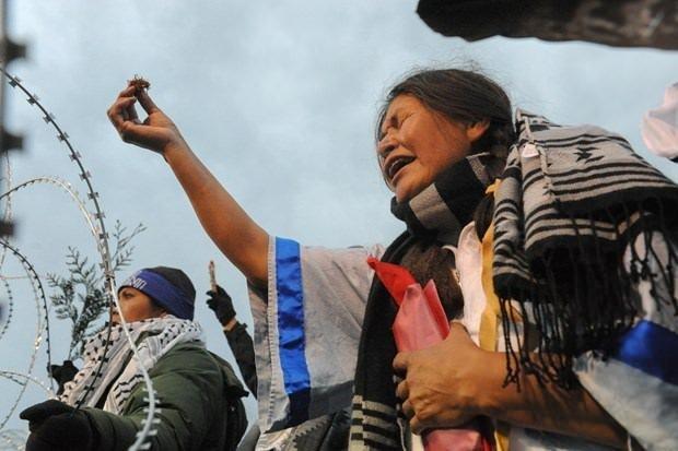 Kızılderililer petrol hattına karşı