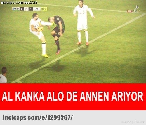 Akhisar - Fenerbahçe maçı capsleri