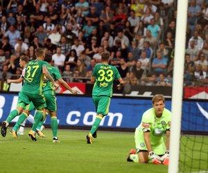 Sturm Graz - Fenerbahçe maçından kareler