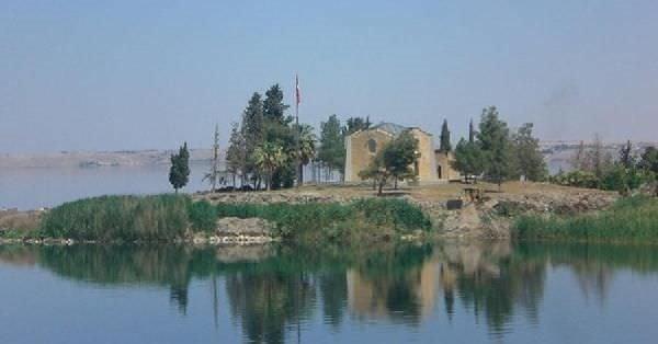 Süleyman Şah Türbesi'nin eski yeri ilk kez görüntülendi