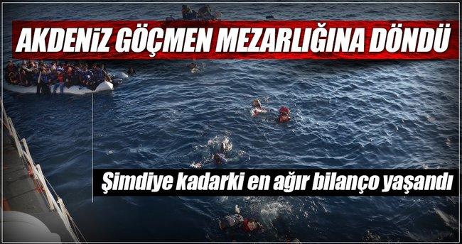 Akdeniz mezarlığına 9 7 kurban daha