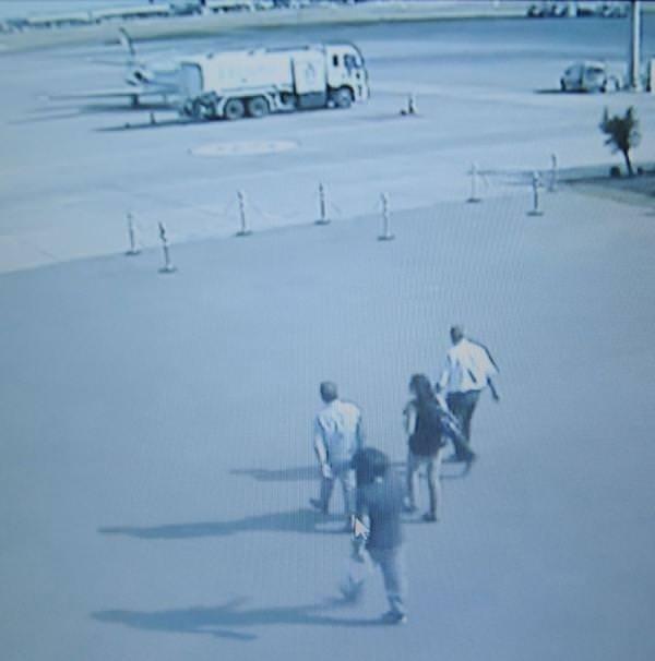 2 metrelik kickboksçu kiralık katil kamerada