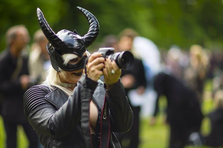 Almanya'da düzenlenen Gotik Festivalinden renkli kareler