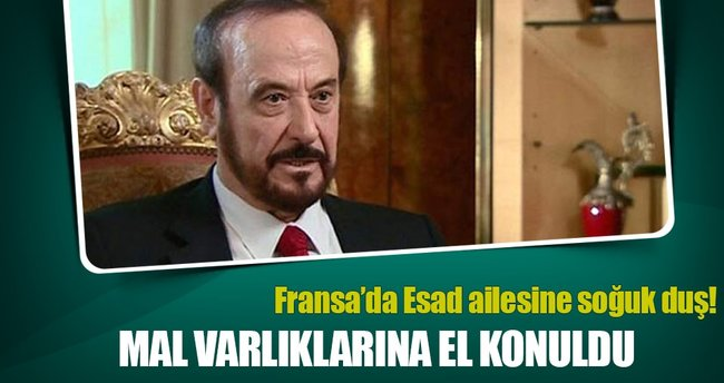 Fransa'da Esad'ın amcasının mal varlığına el konuldu