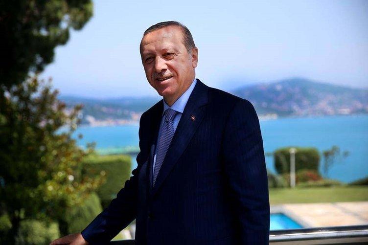 Cumhurbaşkanı Erdoğan'ın fotoğrafları beğeni rekorları kırdı