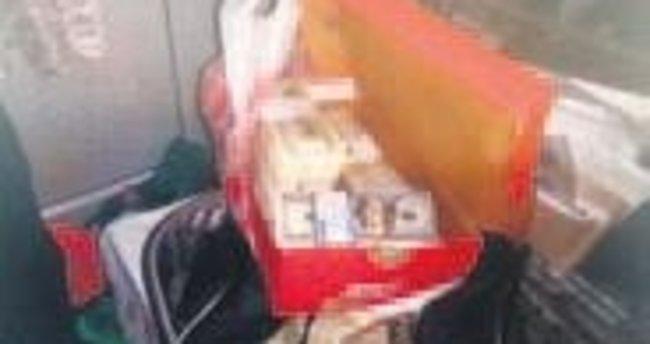 Kutudaki paraya kılıf buldu