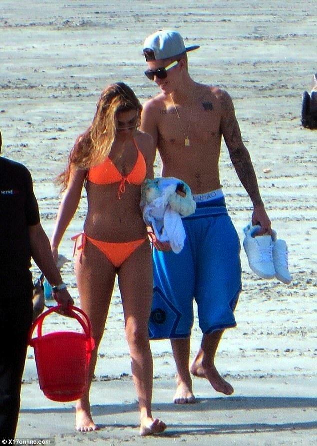 Justin Bieber'ın sabıkalı sevgilisi!