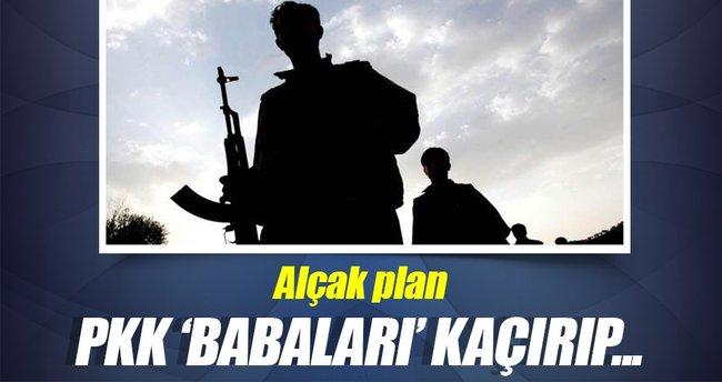 PKK/PYD Afrin'de babaları kaçırıyor
