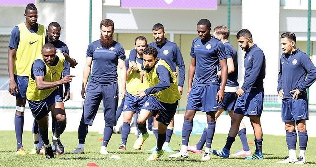 Osmanlıspor, Zürich maçına hazır!