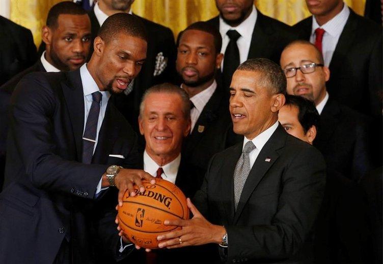 Miami Heat Beyaz Saray'da