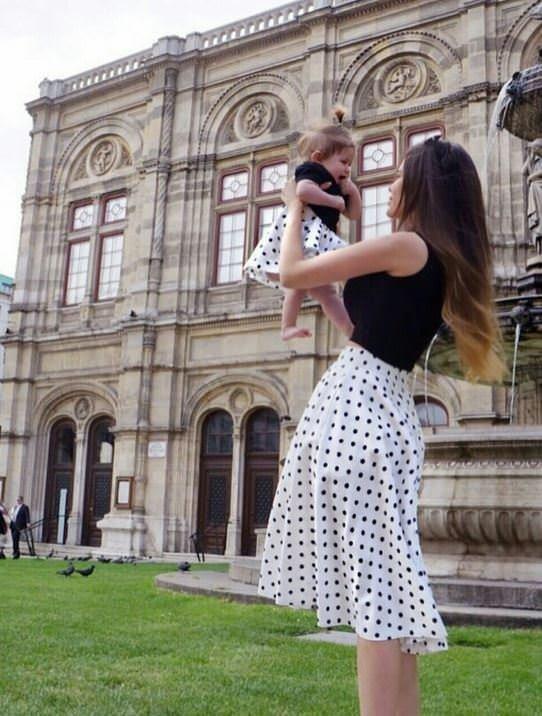 Annesi ve yavrusu modasında trendler