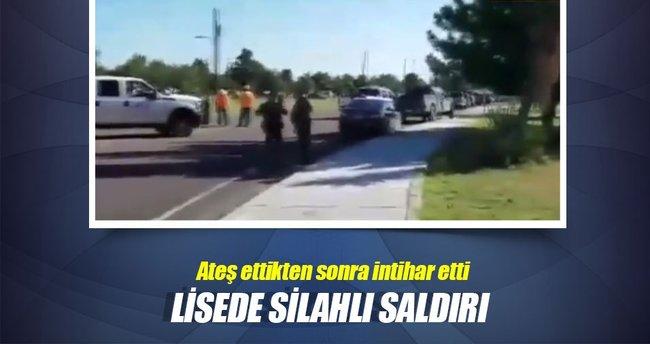 Teksas'ta lisede silahlı saldırı