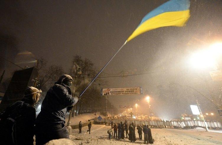 Ukrayna'da kan aktı