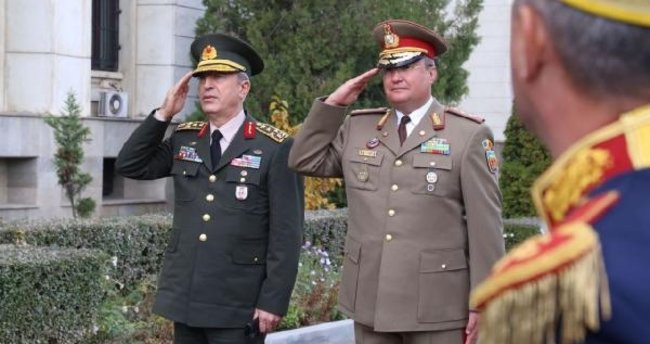 Genelkurmay Başkanı Orgeneral Akar'ın Romanya ziyareti