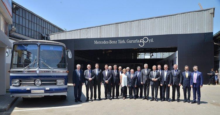 Mercedes-Benz Türk 50. yıldönümünü kutladı