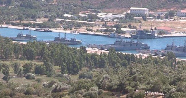 Foça Deniz Üssü'nde operasyon: 55 subay tutuklandı