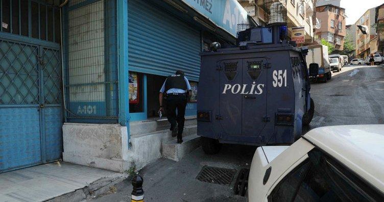 Beyoğlu'nda silahlı soygun