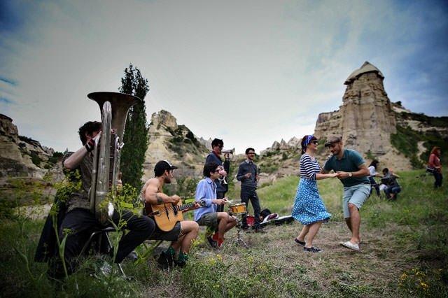 Turistlerin ilgi odağı Kapadokya