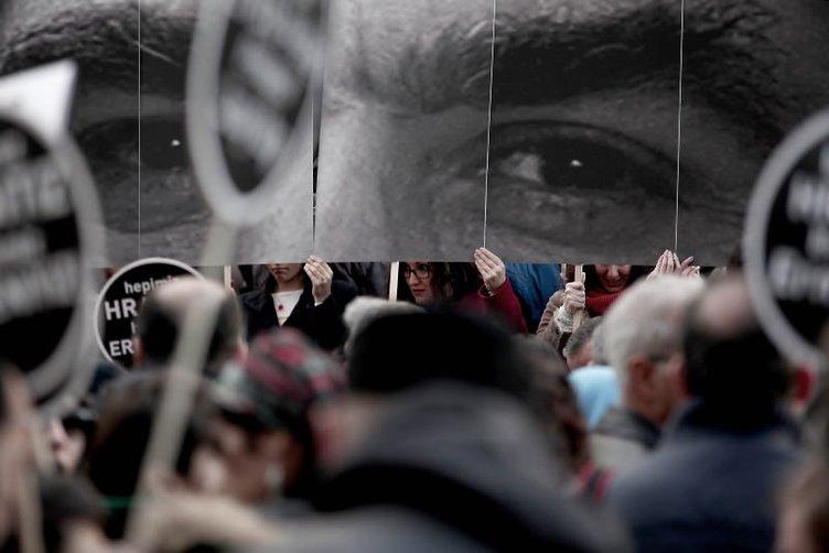 Hrant Dink için ölümünün 8. yılında yürüyüş