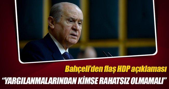 HDP'lilerin yargı önüne çıkarılmaları doğru ve meşru bir karardır