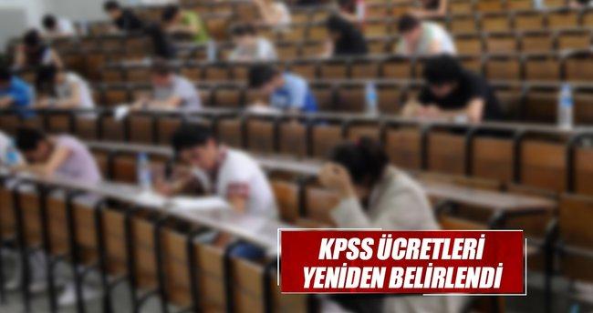 KPSS ücreti yeniden belirlendi