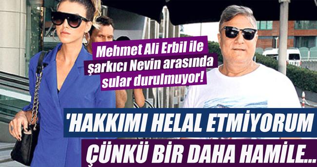 Mehmet Ali Erbil ile şarkıcı Nevin arasında sular durulmuyor!