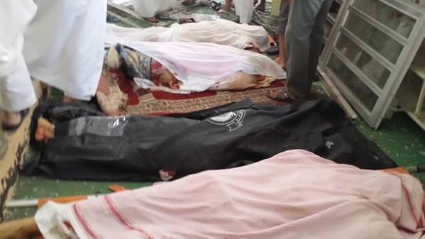 Suudi Arabistan'da camiye kanlı saldırı