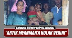BM Myanmar için çağrıda bulundu