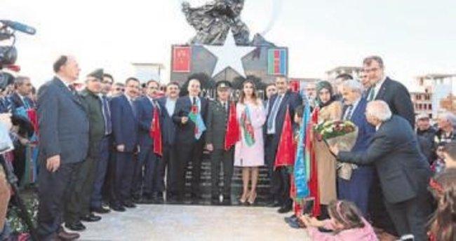 Denizli'de Hocali soykırım anıtı açıldı