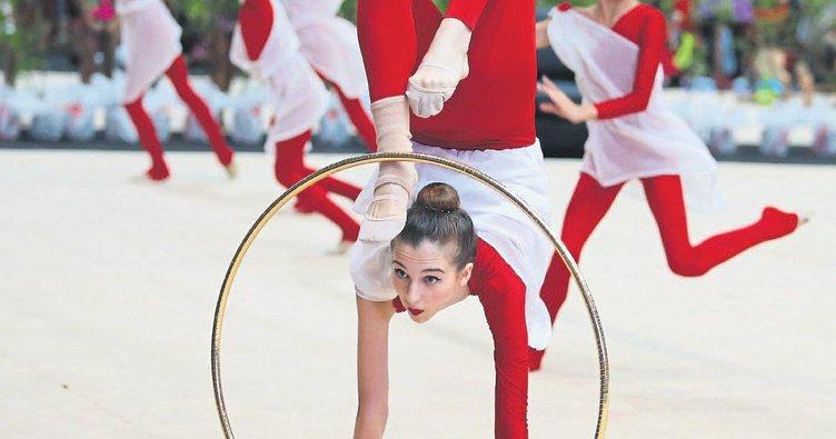10 ülkeden jimnastikçiler Karşıyaka'ya geliyor