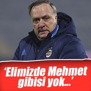 "Advocaat: ""Elimizde Mehmet Ekici gibisi yok"""