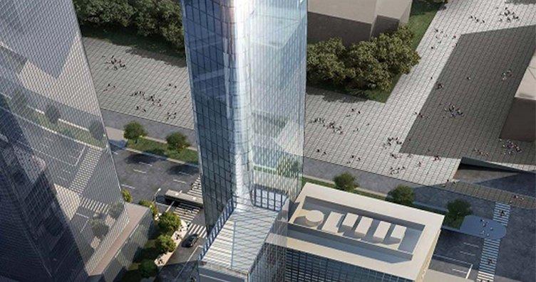 İşte New York'ta inşaa edilen Yeni Türkevi'nin...
