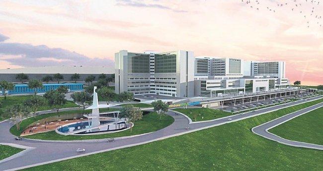 İzmir'e dev hastane