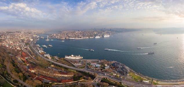 İstanbul'u hiç böyle görmediniz